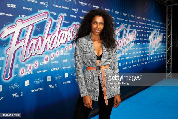 Shari Streich attends the premiere of 'Flashdance Das Musical' at Mehr Theater on September 20 2018 in Hamburg Germany