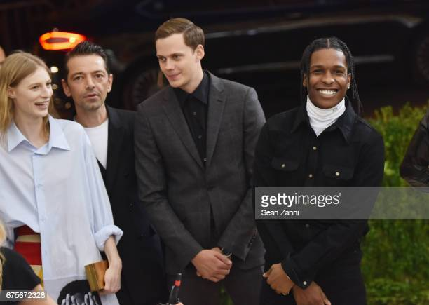 Shariff Earp and ASAP Rocky arrive at 'Rei Kawakubo/Comme des Garcons Art Of The InBetween' Costume Institute Gala at The Metropolitan Museum on May...