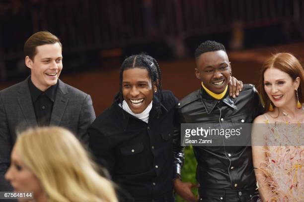 Shariff Earp Julianne Moore and Raf Simons arrive at 'Rei Kawakubo/Comme des Garcons Art Of The InBetween' Costume Institute Gala at The Metropolitan...