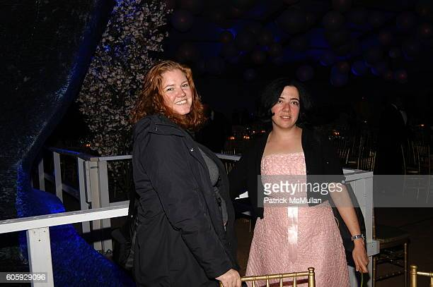 Sharilyn Neidhardt and Amanda Gordon attend The JUILLIARD Centennial Gala Live at Lincoln Center at The Juilliard School on April 3 2006 in New York...
