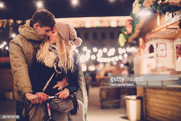 Partage un baiser de Noël