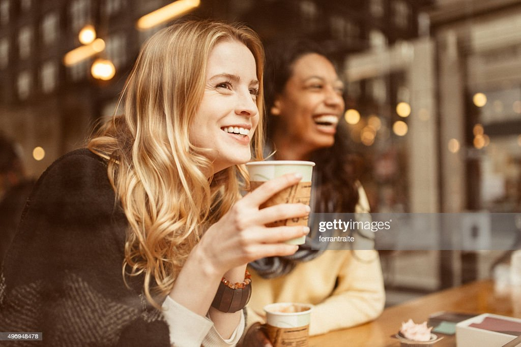 Sharing a laugh with my friend : Stock Photo