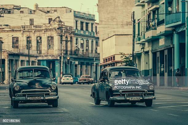 Sharing a ride in Havana