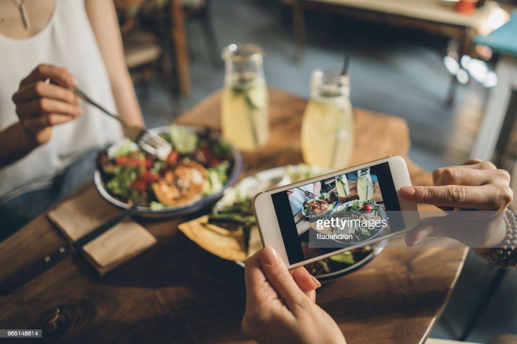 Sharing food : Stock Photo