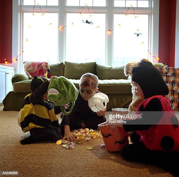 Sharing Halloween Candy