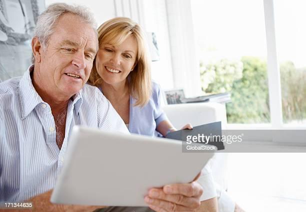 In der digitalen tablet zusammen das Wunder