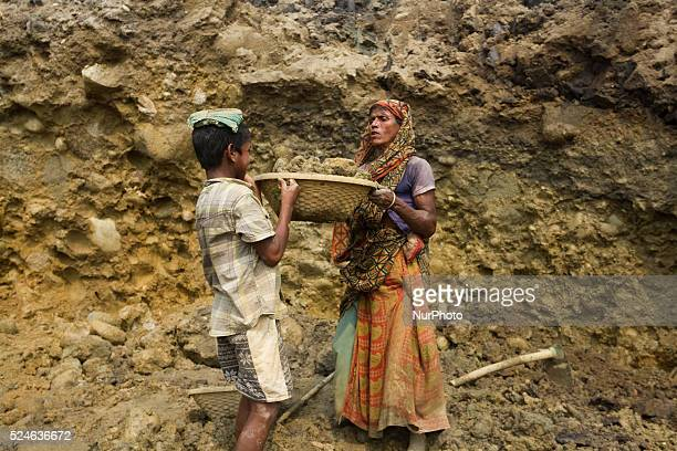 Sharing the loads at stone extraction site in Jaflong Sylhet Bangladesh on February 28 2015 Sylhet is a very resourceful place of Bangladesh in...
