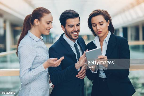 Austausch mit Kollegen