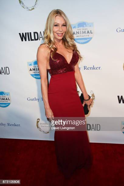 Sharise Neil arrives at the Evening with WildAid at the Beverly Wilshire Four Seasons Hotel on November 11, 2017 in Beverly Hills, California.