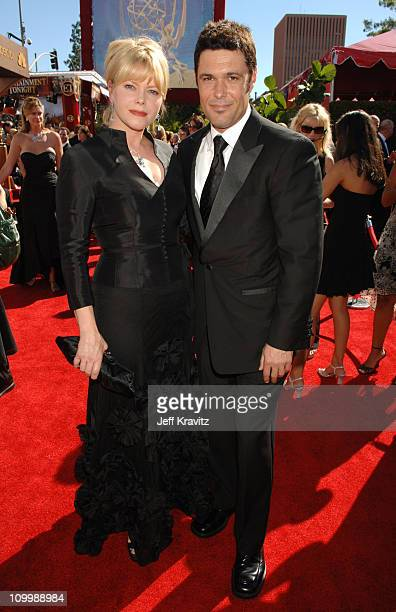 Sharisse BakerBernard and Carlos Bernard during 58th Annual Primetime Emmy Awards Red Carpet at The Shrine Auditorium in Los Angeles California...