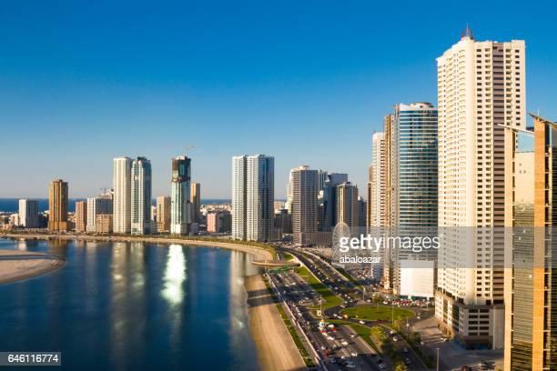Sharjah, Al Mamzar lake corniche