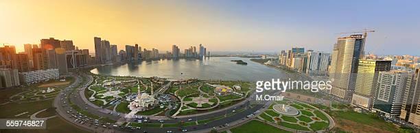 Sharjah Buhaira Corniche (Panorama)