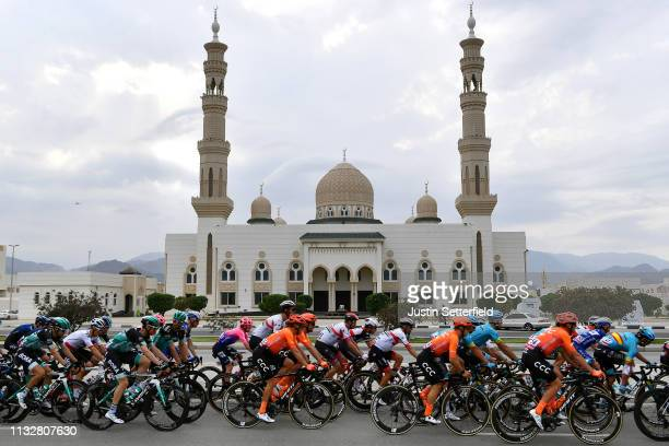 Sharjah City / Landscape / Peloton / Mosque / during the 5th UAE Tour 2019 Stage 5 181km stage from Sharjah Flag Island to Khor Fakkan / #UAETour /...