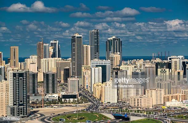 Sharjah city skyline