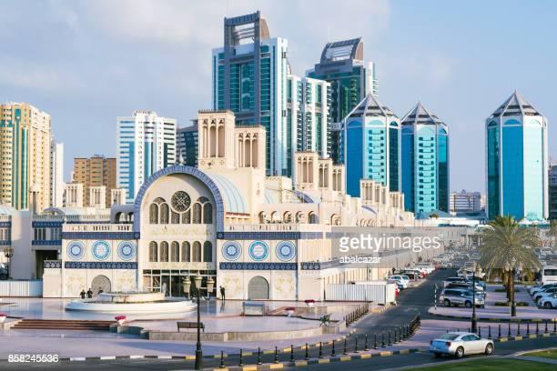 Sharjah downtown skyline