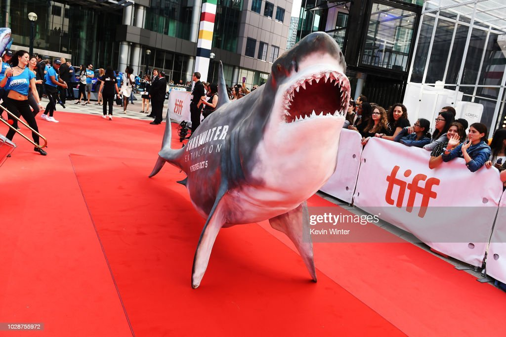 2018 Toronto International Film Festival - 'Sharkwater Extinction' Premiere - Red Carpet : News Photo