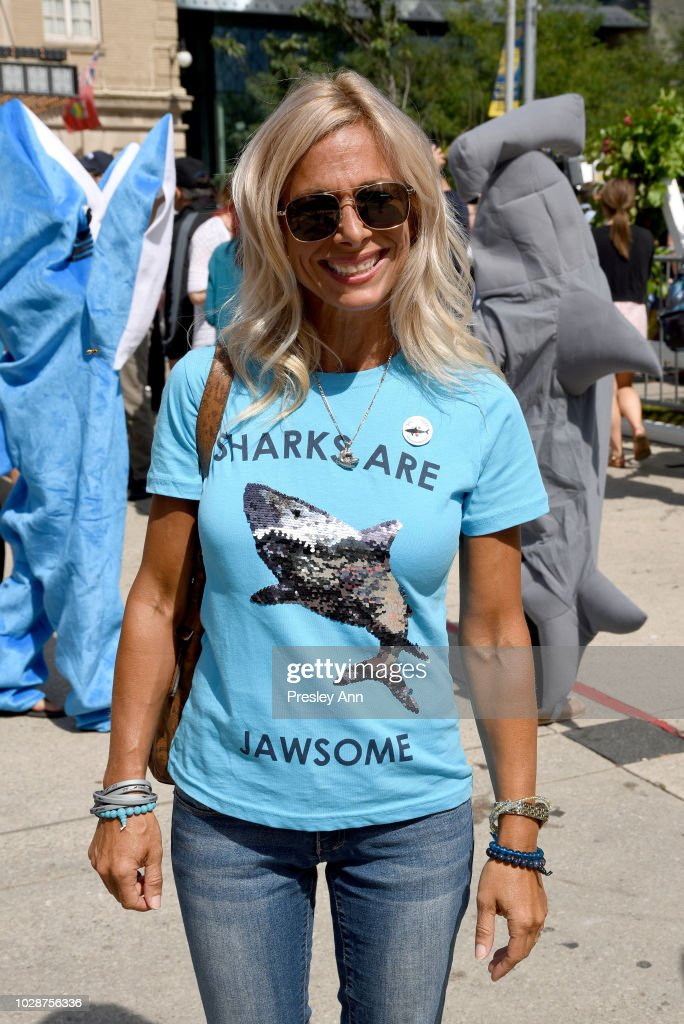 Shark wear is seen during the 'Sharkwater Extinction' premiere during the 2018 Toronto International Film Festival at Roy Thomson Hall on September 7, 2018 in Toronto, Canada.