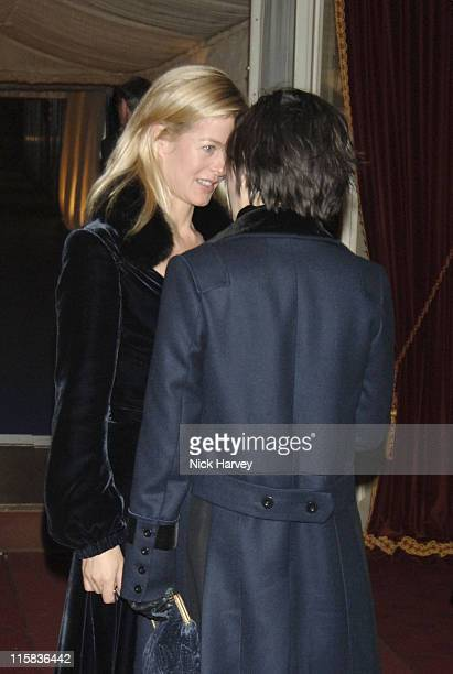 Sharleen Spiteri and Lady Helen Taylor during 'Diana Princess of Wales' by Mario Testino at Kensington Palace Reception November 22 2005 at...