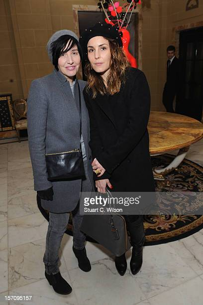 Sharleen Spiteri and Noomi Rapace attend day two of themiumiulondon a temporary women's club at Cafe Royal on November 28 2012 in London England