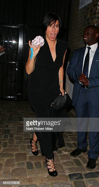 Sharleen Spiteri attending the Dylan Jones Matthew Freud Private GQ man of the year awards after party on September 2 2014 in London England
