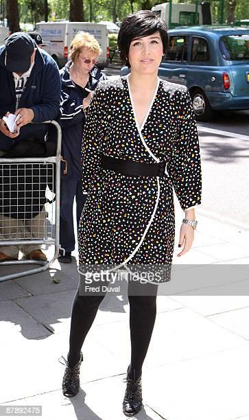 Sharleen Spiteri attends the Ivor Novello Awards at Grosvenor House on May 21 2009 in London England
