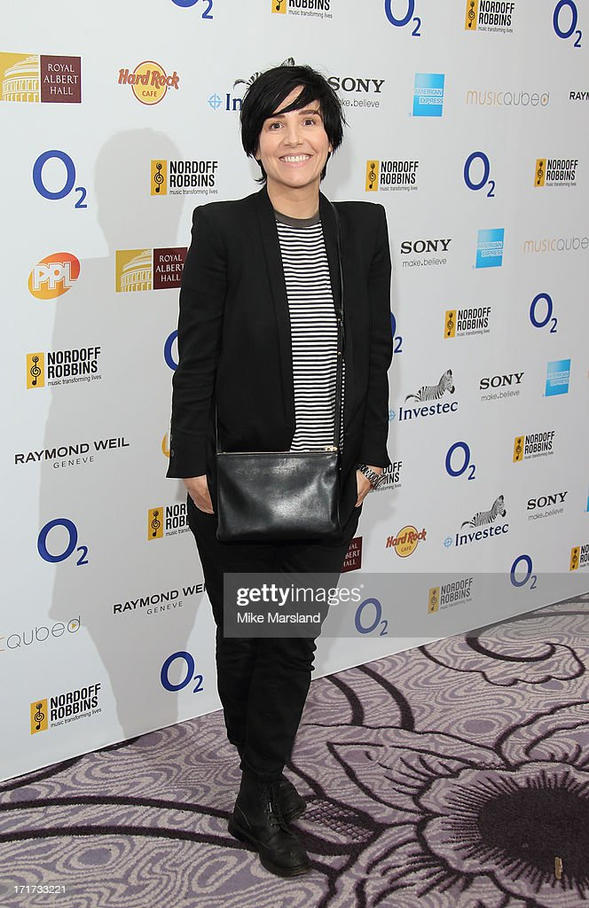 Sharleen Spiteri attends the Nordoff Robbins Silver Clef Awards at London Hilton on June 28, 2013 in London, England.