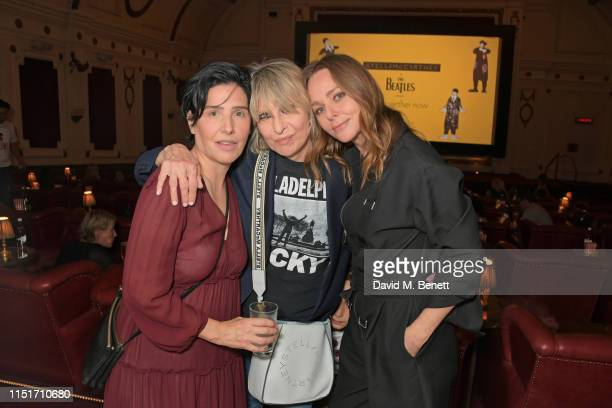 Sharleen Spiteri Chrissie Hynde and Stella McCartney attend a private screening of Yellow Submarine hosted by Stella McCartney to celebrate the...