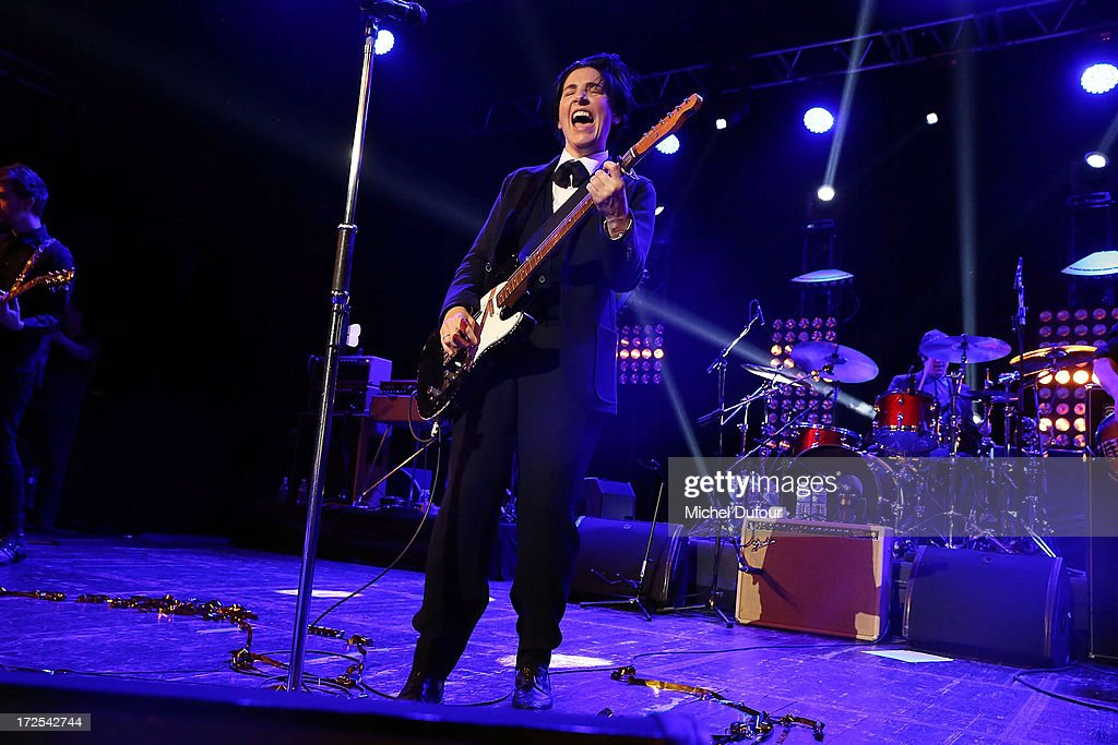 Sharleen Spiteri performs during the 'Lancome Show by Alber Elbaz' at Le Trianon on July 2, 2013 in Paris, France.