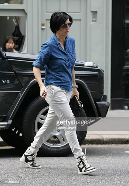 Sharleen Spiteri sighting in Primrose Hill on July 27 2012 in London England