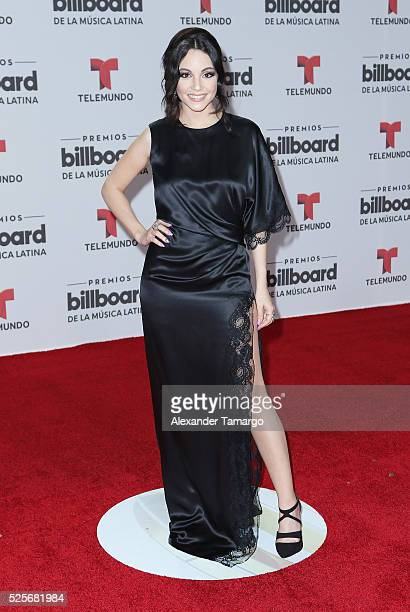 Sharlene Taule attends the Billboard Latin Music Awards at Bank United Center on April 28 2016 in Miami Florida