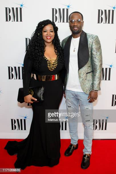 Sharlinda Parker and Q Parker attend the 2019 BMI RB/HipHop Awards on August 29 2019 in Sandy Springs Georgia
