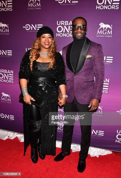 Sharlinda Parker and singer Q Parker of 112 attend 2018 Urban One Honors at La Vie on December 9 2018 in Washington DC