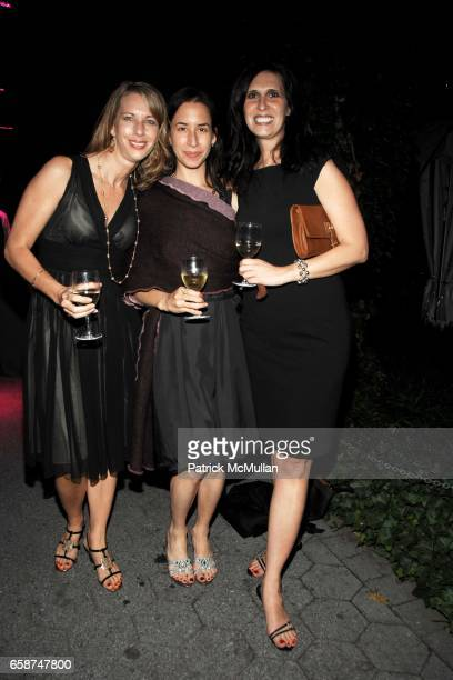 Sharlynn Tuohy Maryann Herklotz and Linda Snyder attend the Wildlife Conservation Society's Central Park Zoo '09 Gala at the Central Park Zoo on June...
