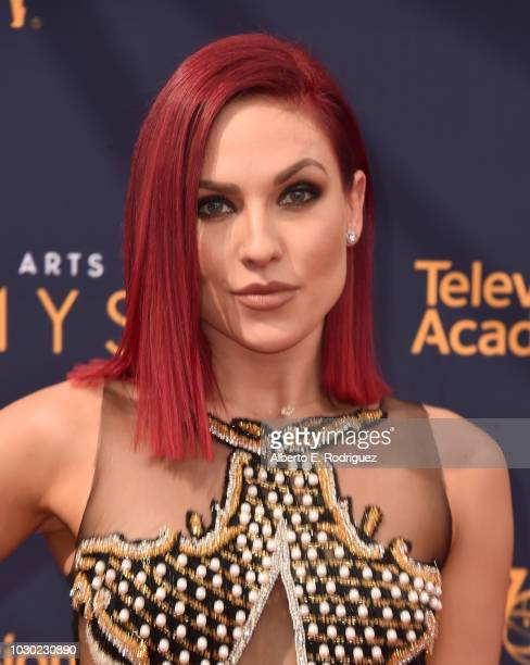 Sharna Burgess attends the 2018 Creative Arts Emmys Day 2 at Microsoft Theater on September 9, 2018 in Los Angeles, California.