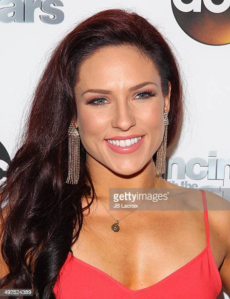 Sharna Burgess attends the 'Dancing With The Stars' Season 18 Official Wrap Party on May 20 2014 in West Hollywood California