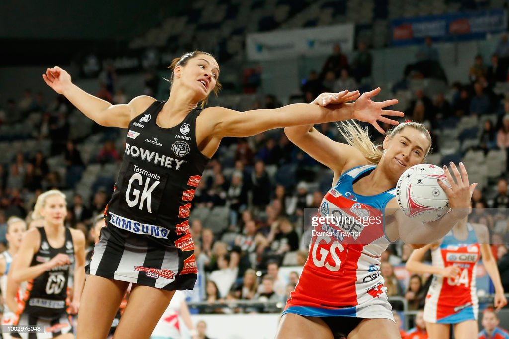 Super Netball Rd 12 - Magpies v Swifts