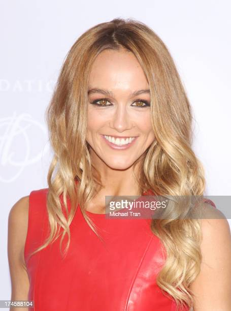 Sharni Vinson arrives at the Dizzy Feet Foundation's 3rd Annual Celebration of Dance Gala held at Dorothy Chandler Pavilion on July 27 2013 in Los...
