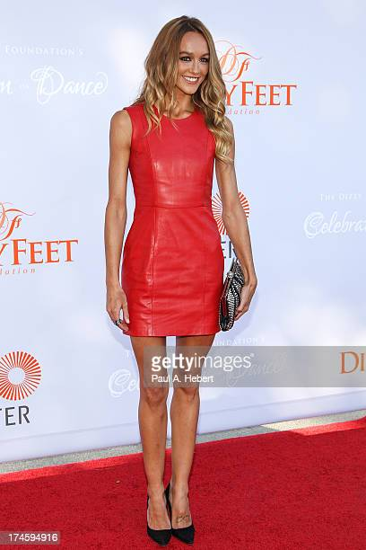 Sharni Vinson attends the 3rd Annual Dizzy Feet Foundation's Celebration Of Dance Gala at Dorothy Chandler Pavilion on July 27 2013 in Los Angeles...