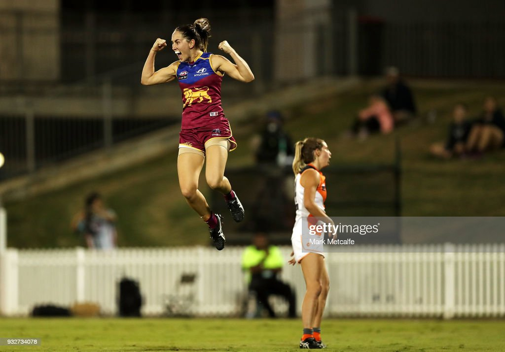 AFLW Rd 7 - GWS v Brisbane : News Photo