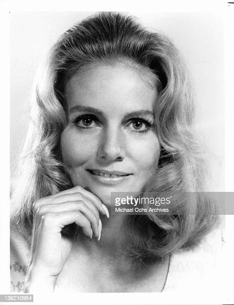 Sharon Acker publicity portrait from the television series 'The New Perry Mason' 1973
