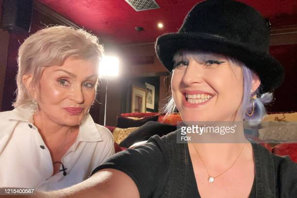 Sharon and Kelly Osbourne on the all-new unscripted series CELEBRITY WATCH PARTY, premiering Thursday, May 7 on FOX.