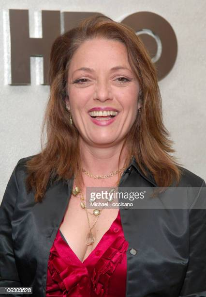Sharon Angela during The Sopranos Season Finale New York Screening Presented by HBO at HBO Theatre in New York City New York United States