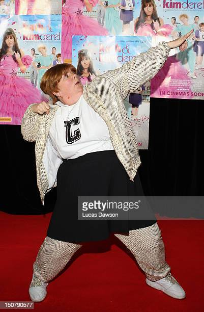 Sharon attends the red carpet premiere for Kath Kimderella at Village Cinemas Fountain Gate on August 26 2012 in Melbourne Australia
