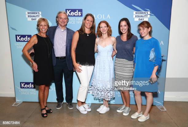 Sharon Barbano of Wolverine Worldwide President Wolverine Boston Group Wolverine Worldwide Richie Woodworth Keds President Gillian Meek Keds Chief...