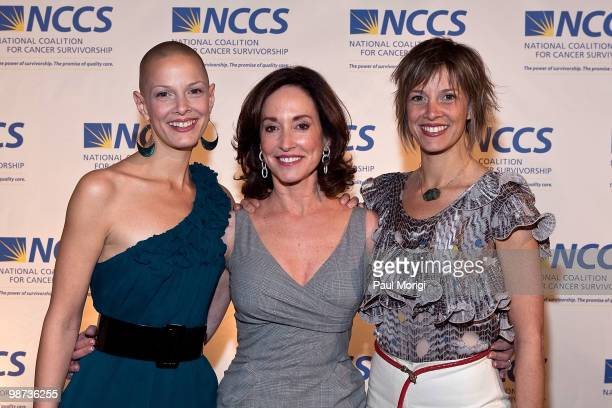 Sharon Blynn Lilly Tartikoff and Elisa Blynn arrive at the 2010 NCCS Rays of Hope awards gala at the Andrew W Mellon Auditorium on April 28 2010 in...