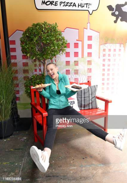 Sharon Blynn of 'Captain Marvel' attends the Pizza Hut Lounge at 2019 ComicCon International San Diego on July 20 2019 in San Diego California