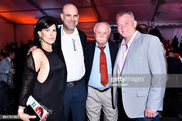Sharon Bradford Fred Bradford Jim Smith and Kevin O'Connor attend the 21st Annual Hamptons Heart Ball at Southampton Arts Center on June 10 2017 in...