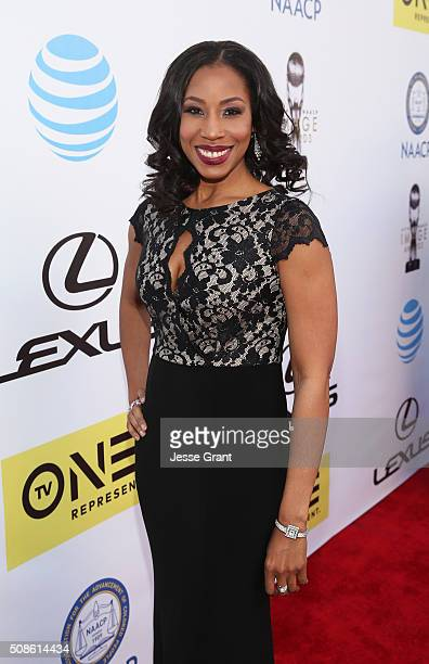 Sharon Brathwaite attends the 47th NAACP Image Awards presented by TV One at Pasadena Civic Auditorium on February 5 2016 in Pasadena California