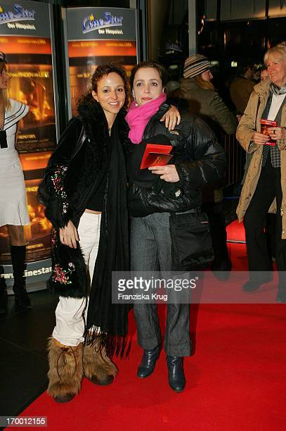 """Sharon Brauner And Anna Thalbach at The Premiere """"From Search And Find The Love"""" in Cinestar at Potsdamer Platz in Berlin 240105."""