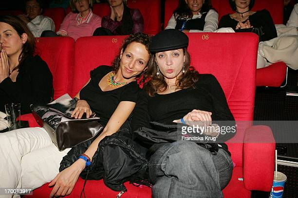 Sharon Brauner And Anna Thalbach at The Premiere From Search And Find The Love in Cinestar at Potsdamer Platz in Berlin 240105